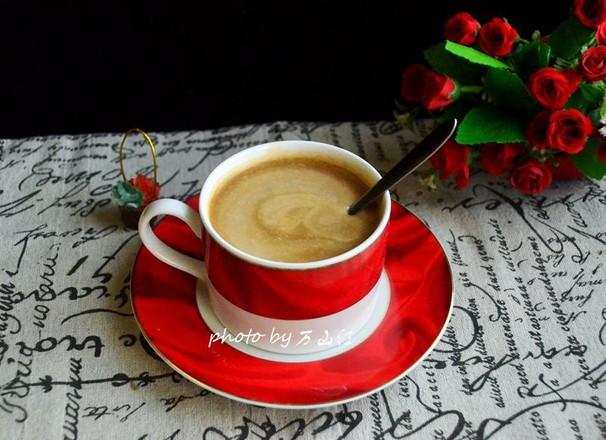 椰浆咖啡成品图