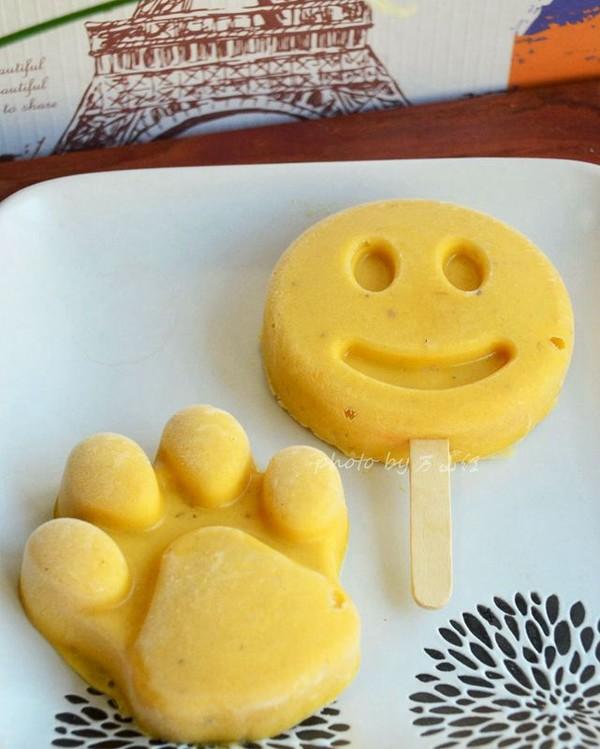 香蕉芒果冰激凌(健康版)成品图