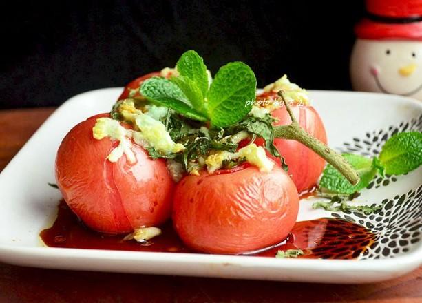 【事事如意】十香烤西红柿成品图