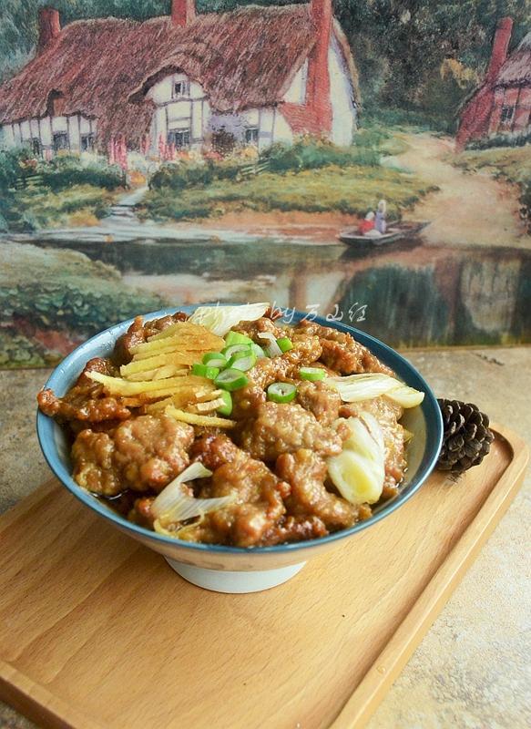 年夜菜硬菜之蒸小酥肉成品图