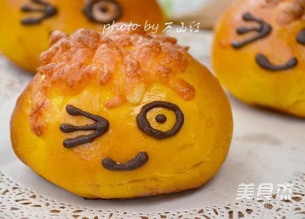 南瓜小子乳酪面包怎么做