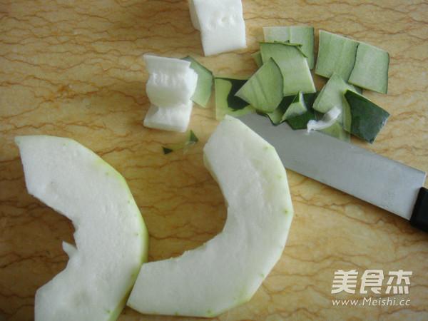 豆豉肉末烧冬瓜的做法图解