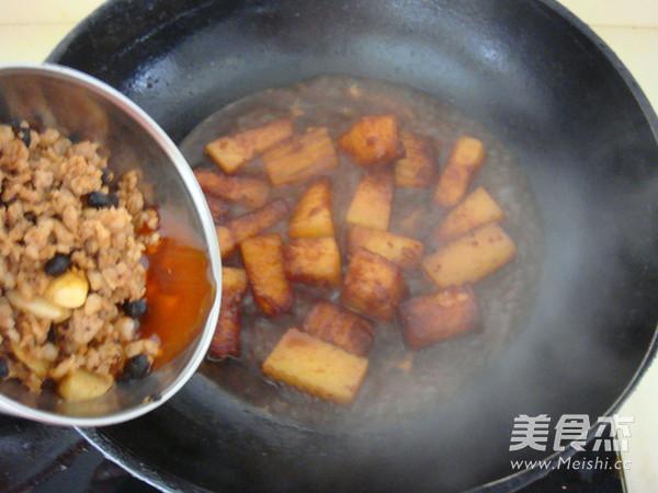 豆豉肉末烧冬瓜怎么炖