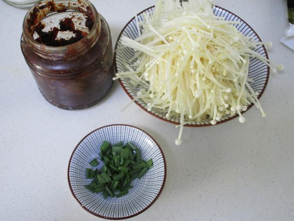 红油金针菇肥牛片的做法图解