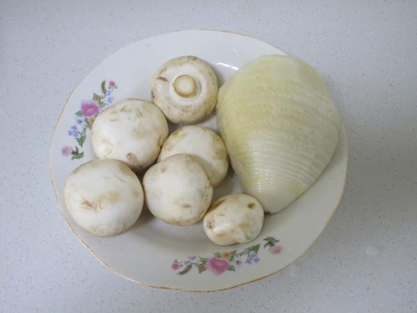 鲜笋蘑菇炒肉片的做法大全