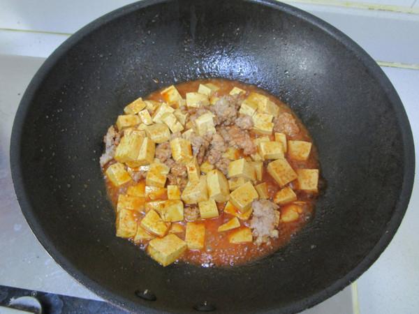 美食DIY——酱烧肉末豆腐