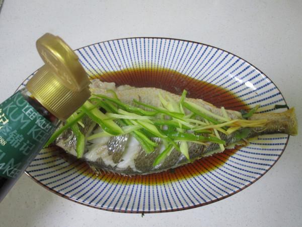 美食DIY——清蒸大黄鱼