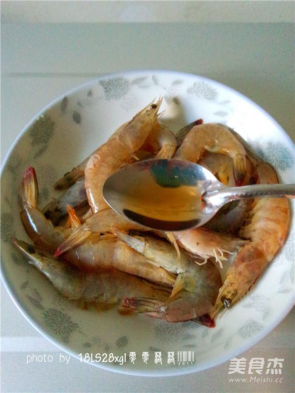 微波番茄虾的做法图解