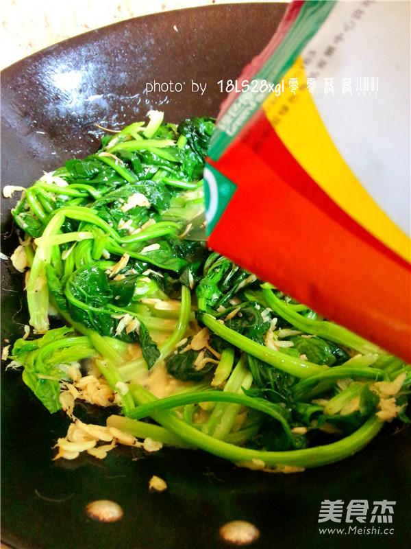虾皮菠菜怎么煮