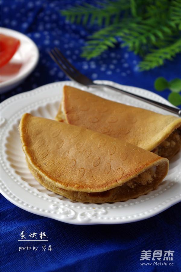 【成都名小吃】美味蛋烘糕成品图