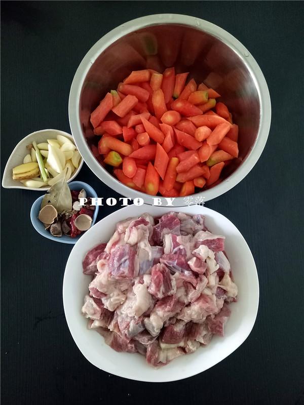 胡萝卜烧牛腩的做法大全