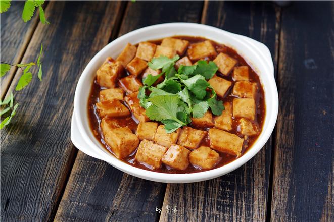 叉烧豆腐成品图
