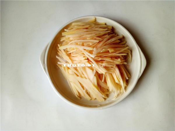 土豆丝饼的做法图解