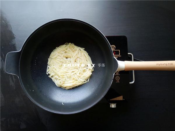 土豆丝饼的简单做法
