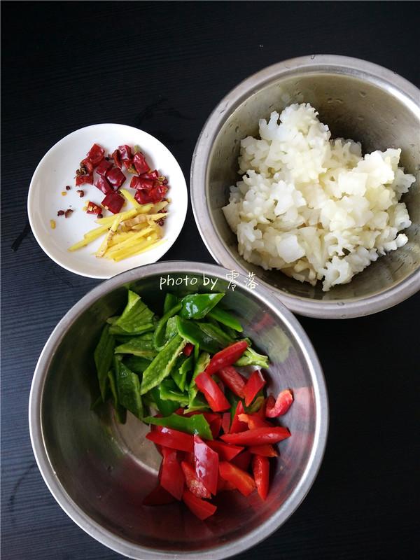 美食DIY——双椒鱿鱼