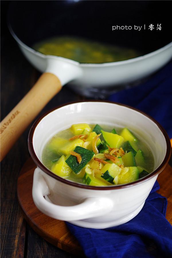 海味南瓜汤成品图