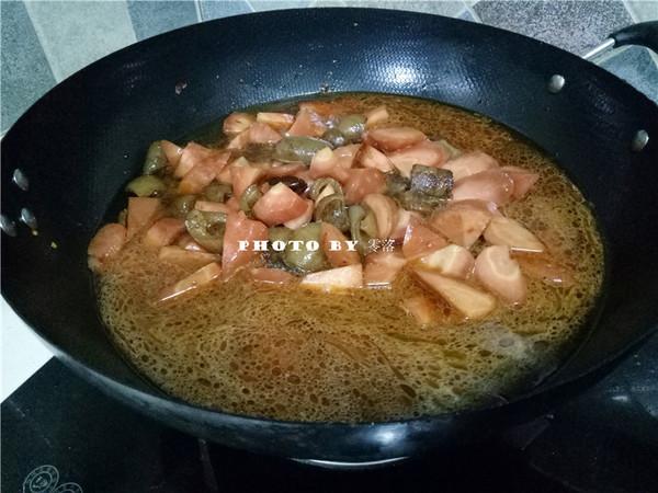 胡萝卜烧肉皮怎么煮