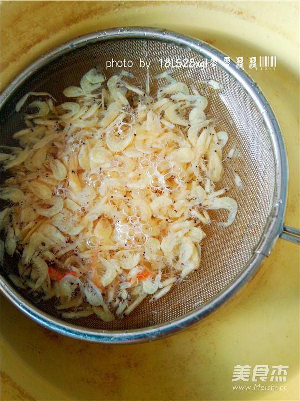 虾皮菠菜的做法图解