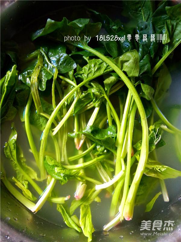 虾皮菠菜的做法大全