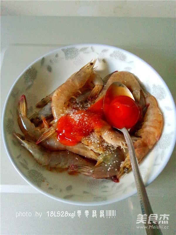 微波番茄虾怎么做