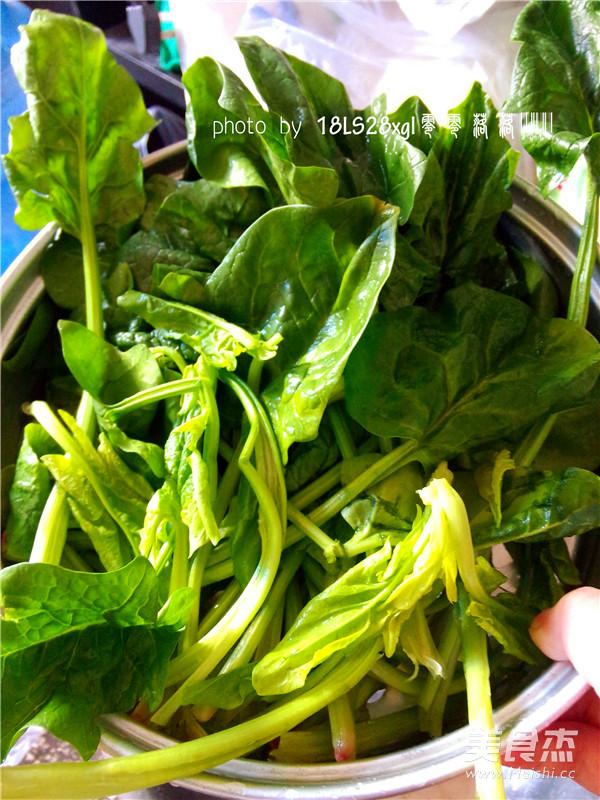 虾皮菠菜怎么吃