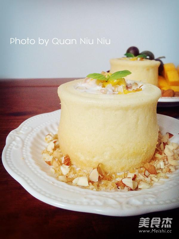 芒果酸奶杯成品图