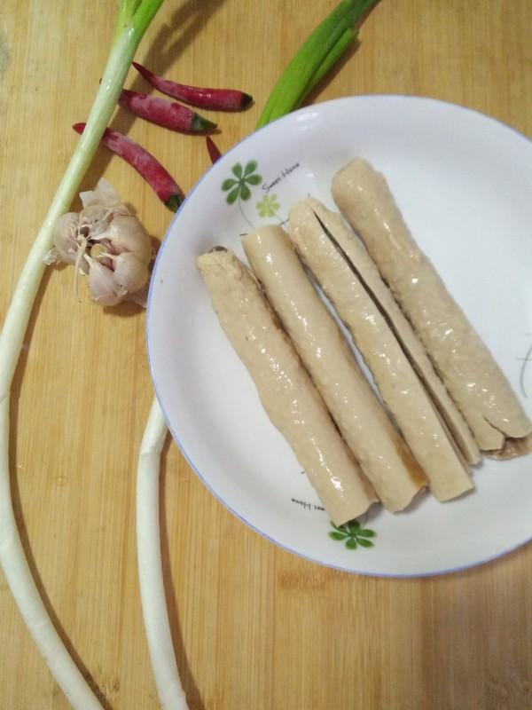 凉拌豆棍的做法图解