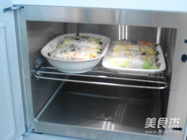 蒸白菜卷怎么煮