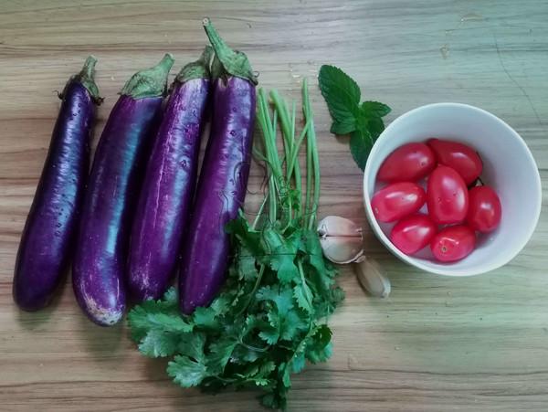 美食DIY——圣女果凉拌茄子