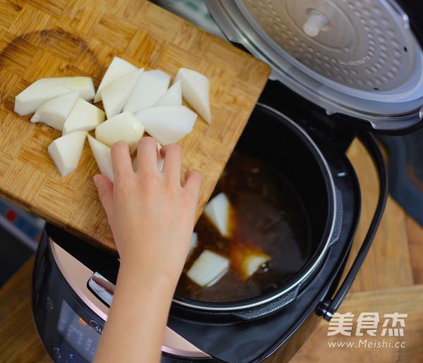 萝卜炖牛腩怎么吃