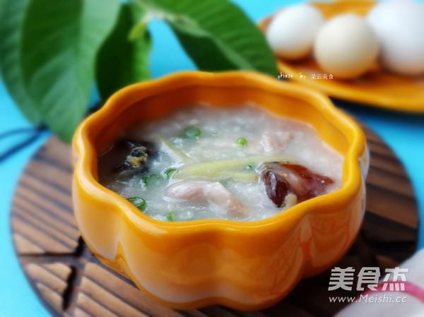 苏泊尔·中华炽陶皮蛋瘦肉粥成品图