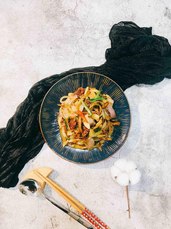 干锅茶树菇成品图