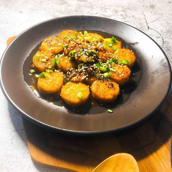 茄汁脆皮日本豆腐怎样煸