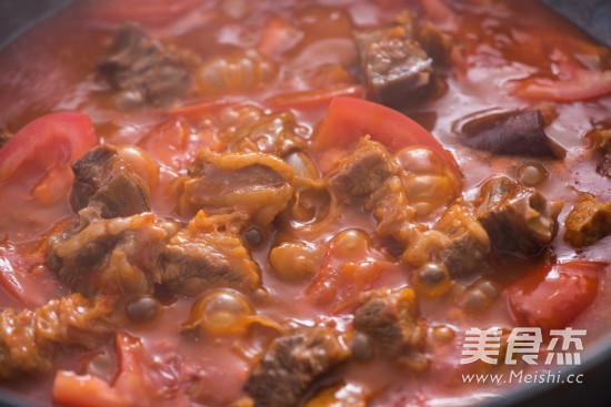 番茄炖牛腩怎么吃