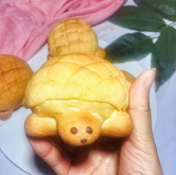 乌龟菠萝包成品图