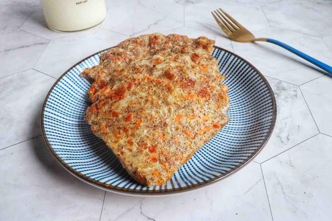 洋葱胡萝卜全麦饼成品图