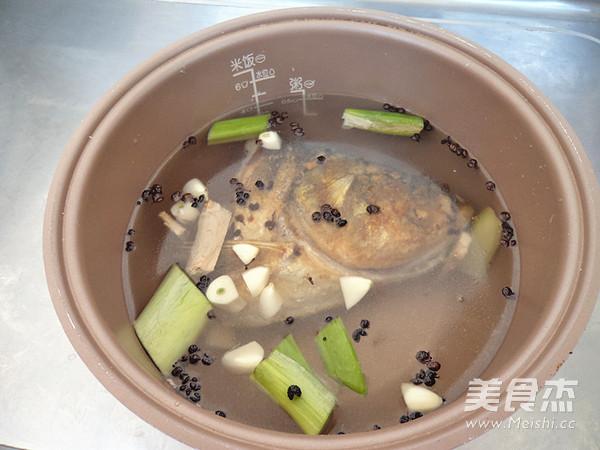 鲢鱼头豆腐汤怎么煮