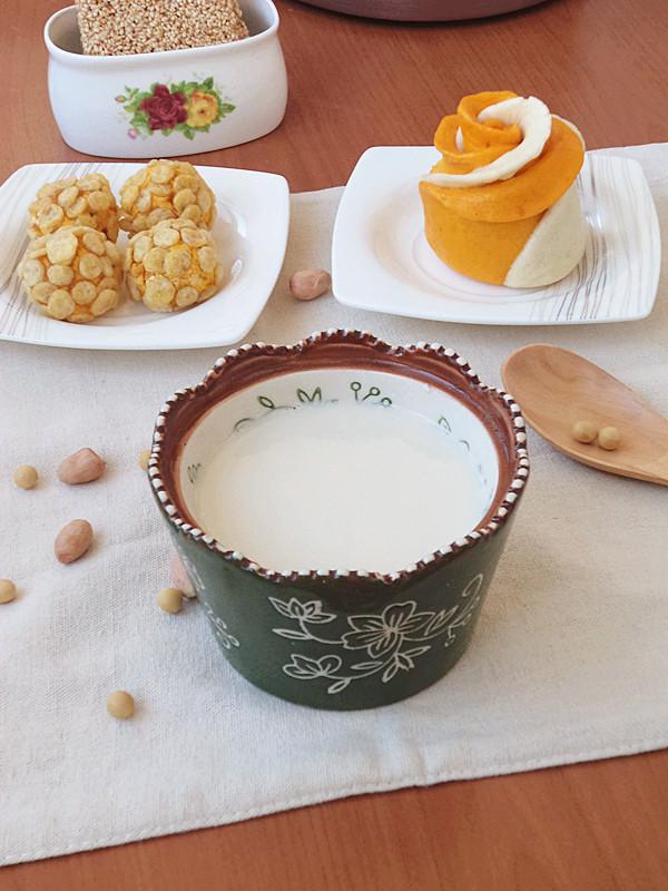 花生豆浆成品图