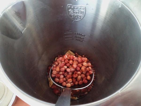 红豆红枣豆浆#早餐#怎么做