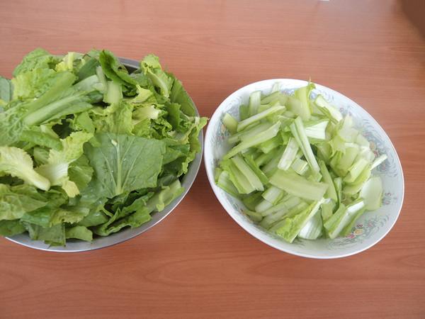 榛蘑烧小白菜的简单做法
