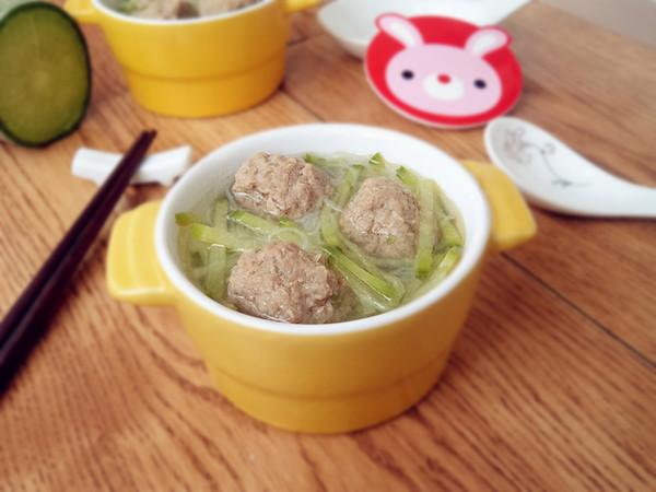 萝卜羊肉丸子汤成品图