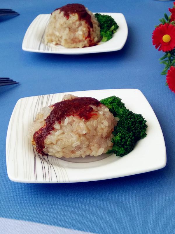 【团团圆圆】咖喱糯米肉丸成品图