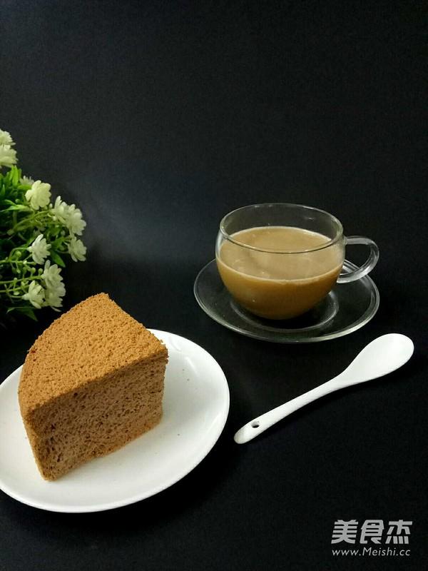 咖啡戚风蛋糕怎样煸