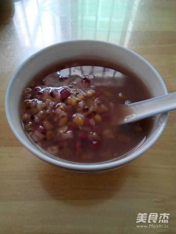 红绿豆西米粥成品图