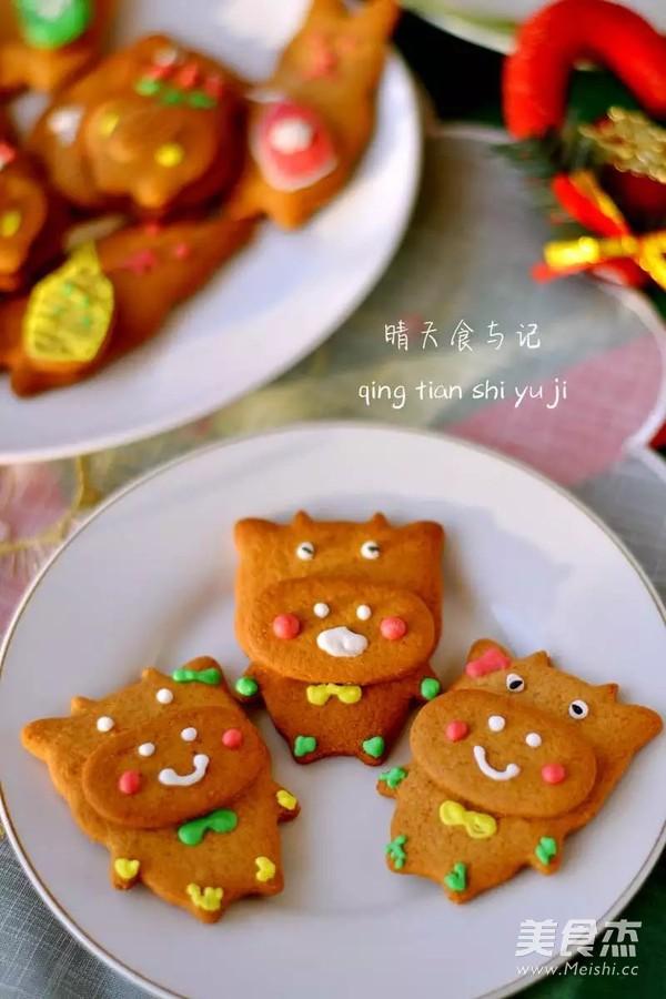 圣诞糖霜饼干开启欢乐圣诞之旅!的制作