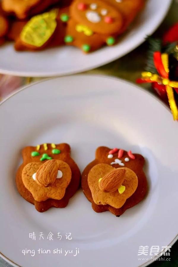 圣诞糖霜饼干开启欢乐圣诞之旅!的制作方法