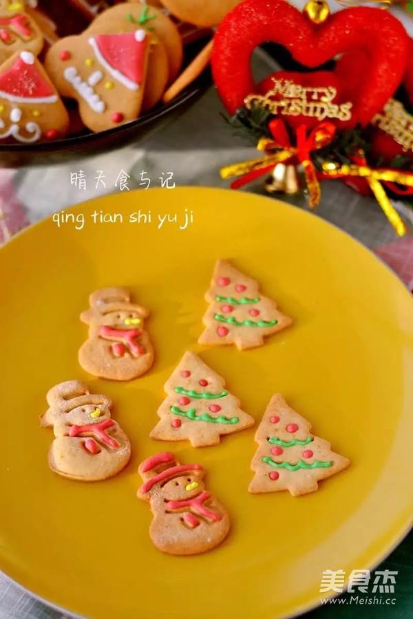 圣诞糖霜饼干开启欢乐圣诞之旅!的做法大全