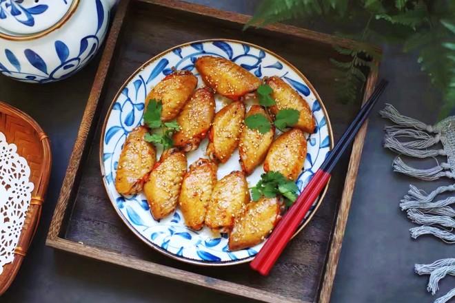 泰式香辣烤翅成品图