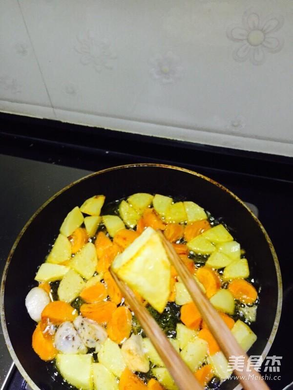 咖喱鱼丸怎么煮