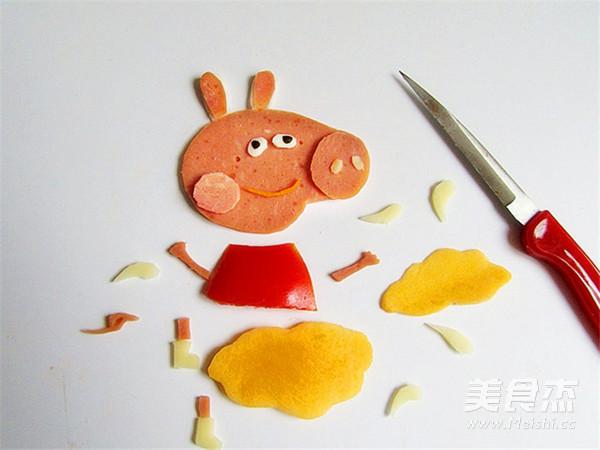 简易早餐——小猪佩奇的做法图解